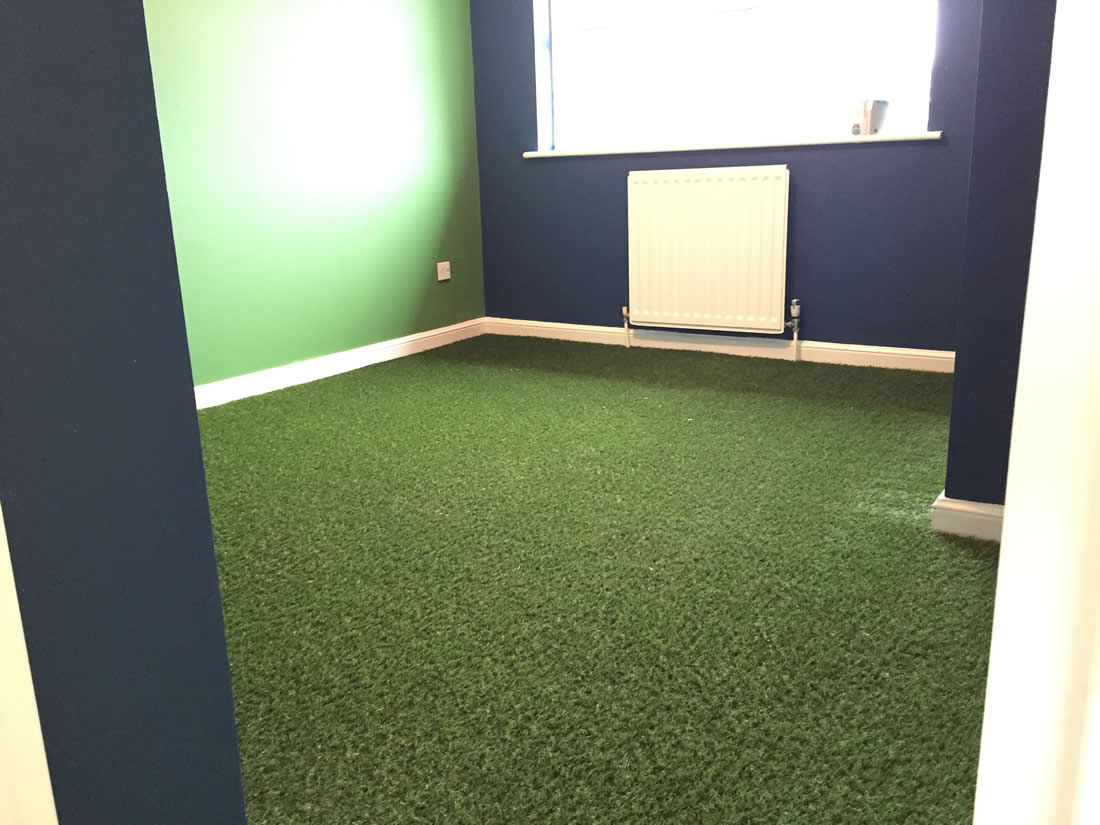 Indoor Artificial Grass Carpet Fitted In Redditch